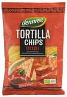 Dennree Tortilla Chips paprika